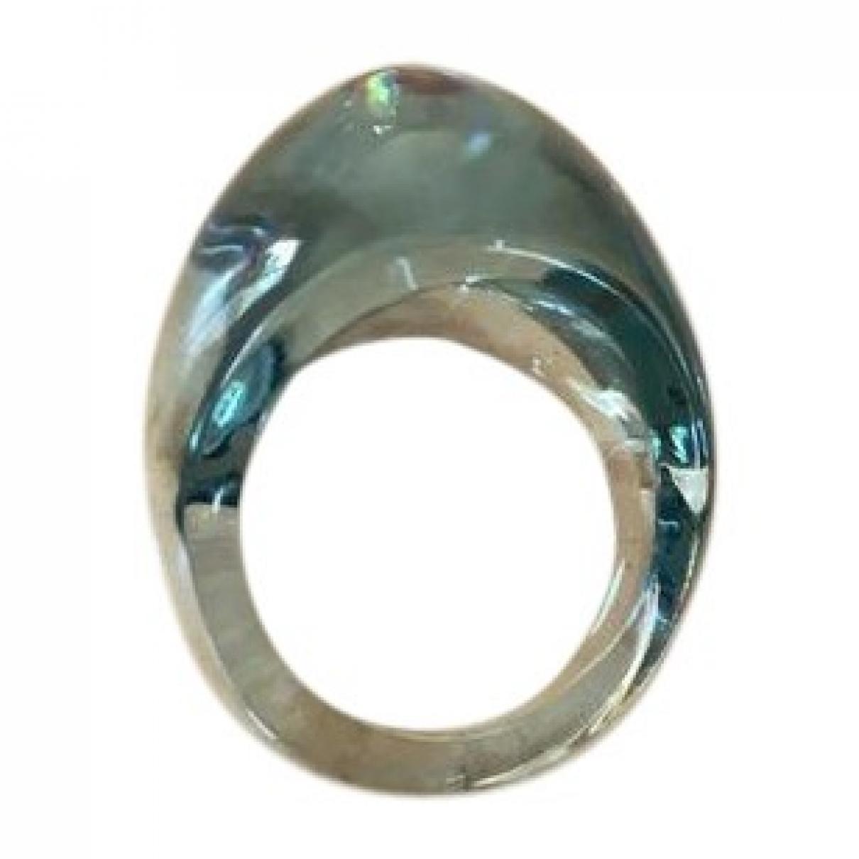 Lalique - Bague   pour femme en cristal - bleu