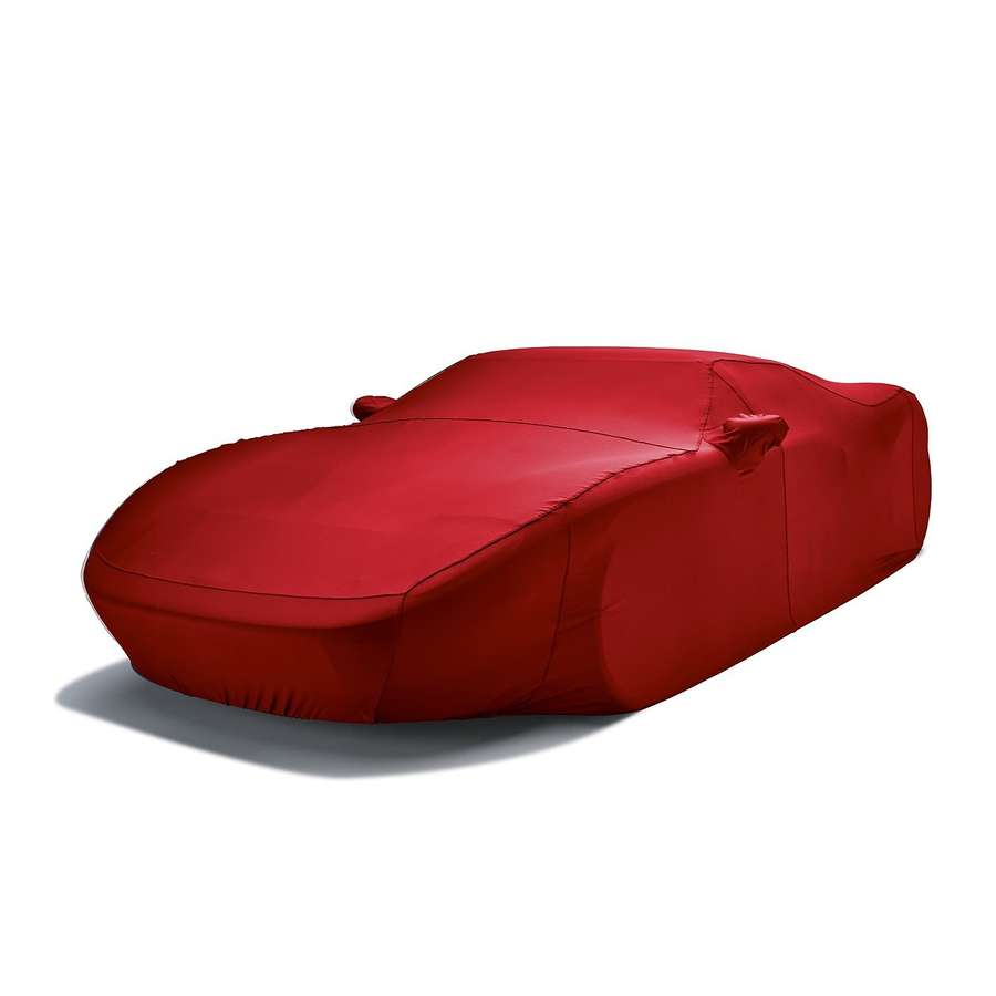 Covercraft FF18084FR Form-Fit Custom Car Cover Bright Red Nissan Titan 2016-2021