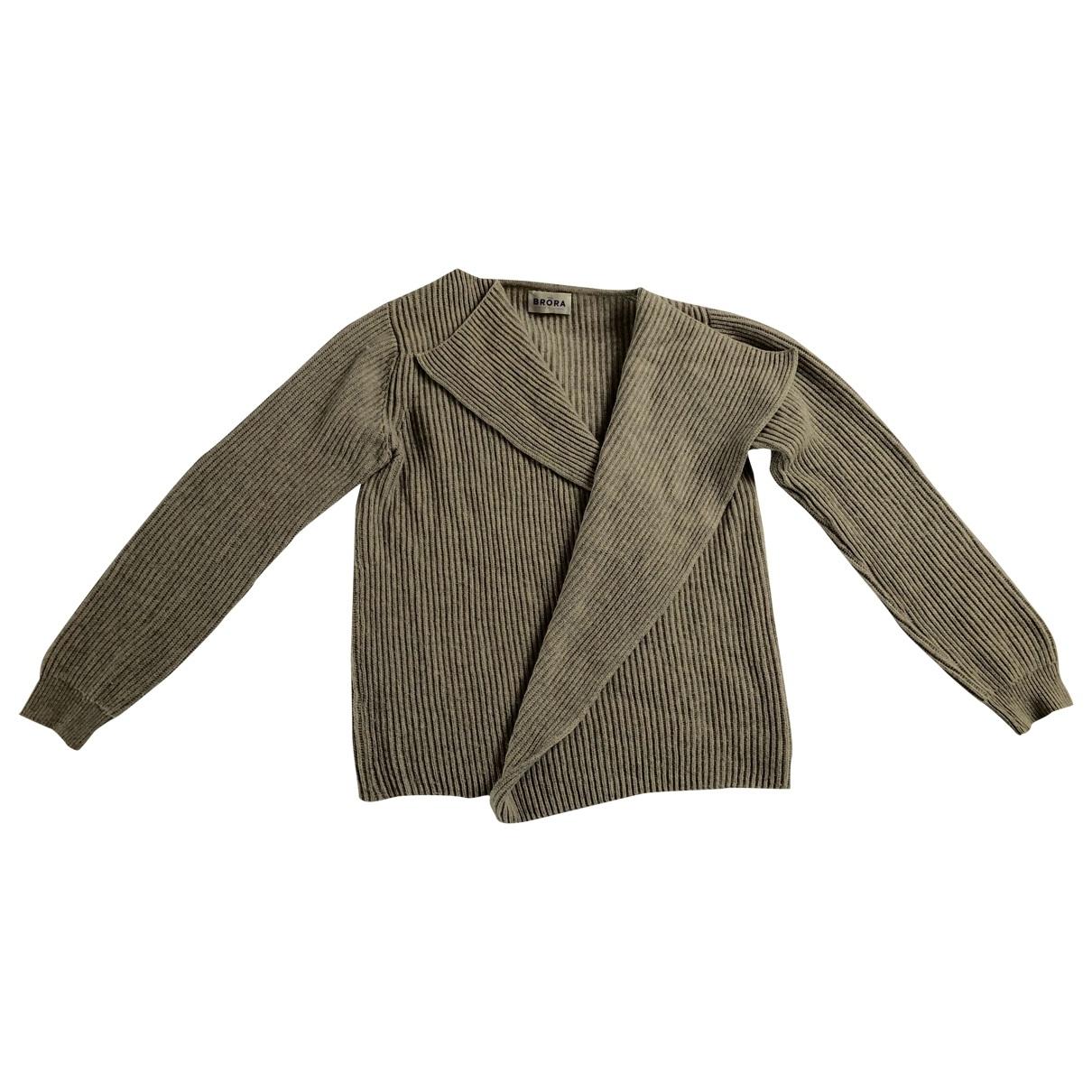 Brora - Pull   pour femme en cachemire - gris
