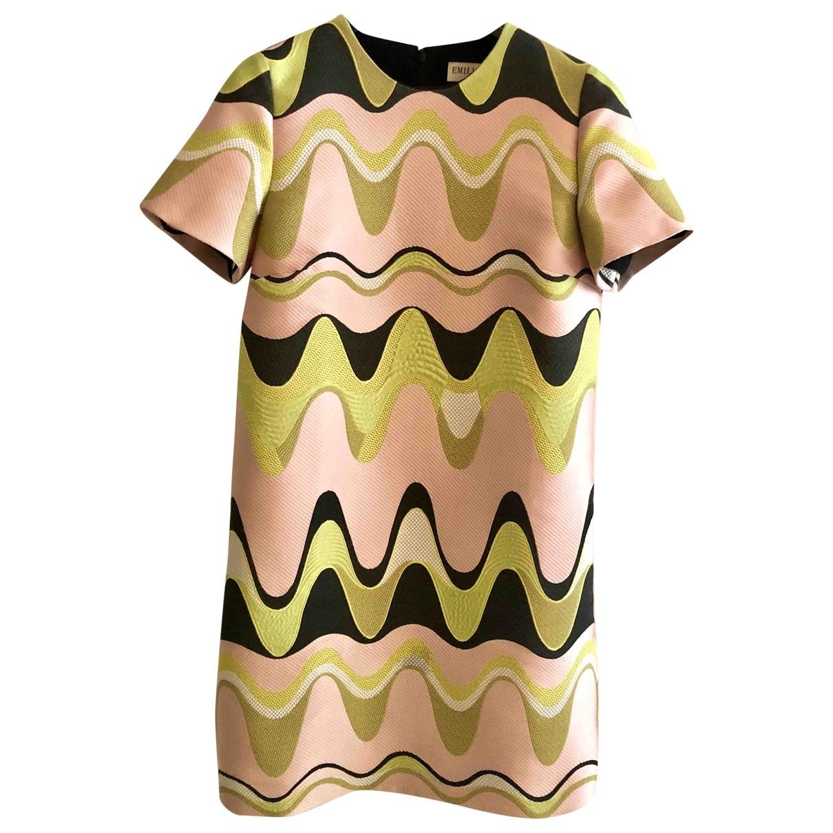 Emilio Pucci \N Kleid in  Bunt Polyester