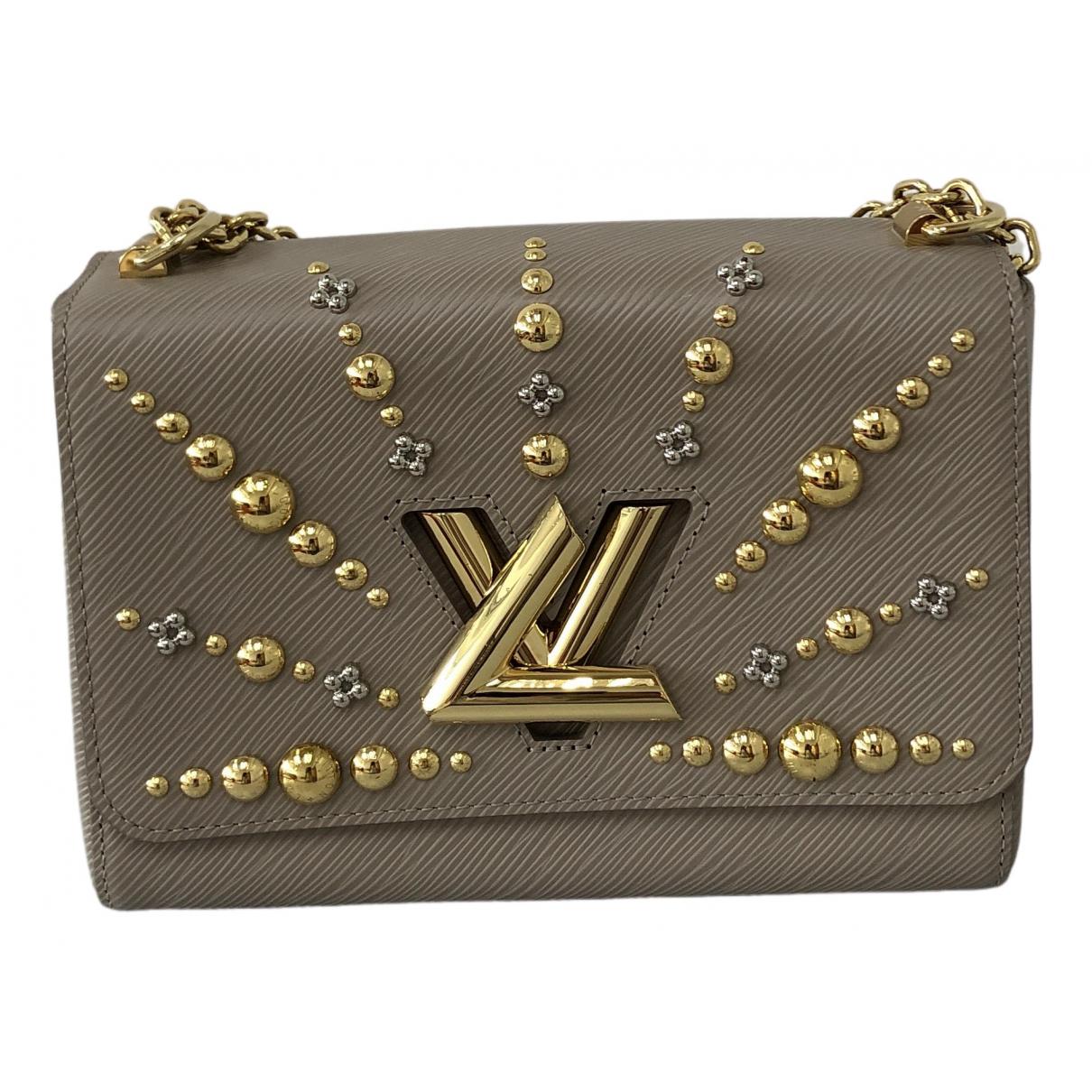 Louis Vuitton Twist Beige Leather handbag for Women \N