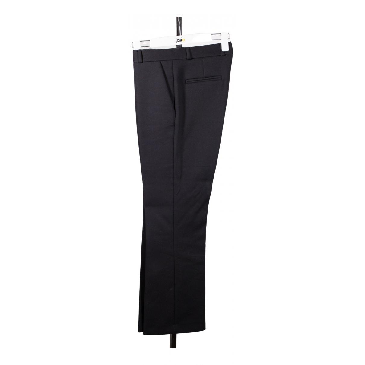 Tara Jarmon \N Black Cotton Trousers for Men M International