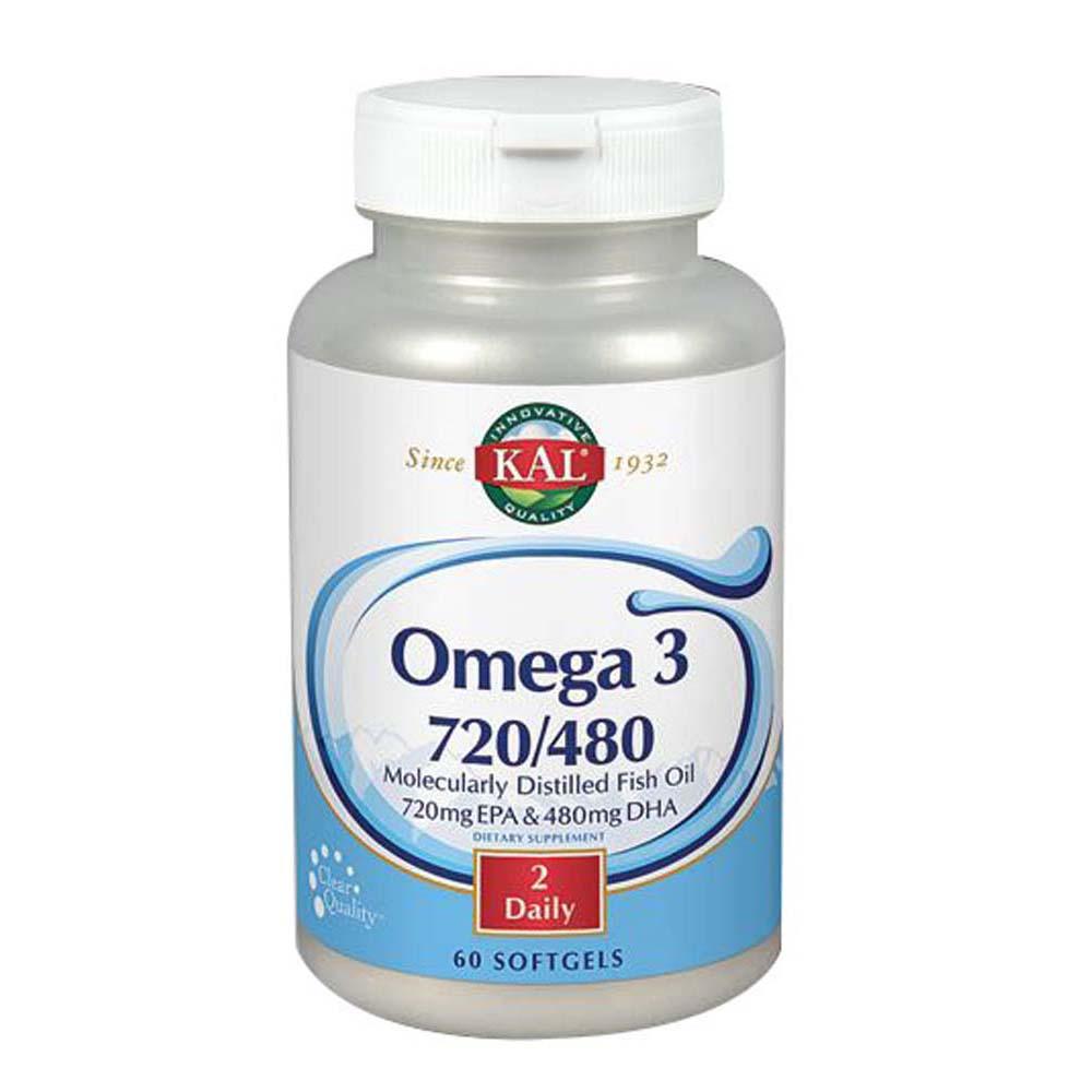 Omega 3 720/480 60 Softgels by Kal