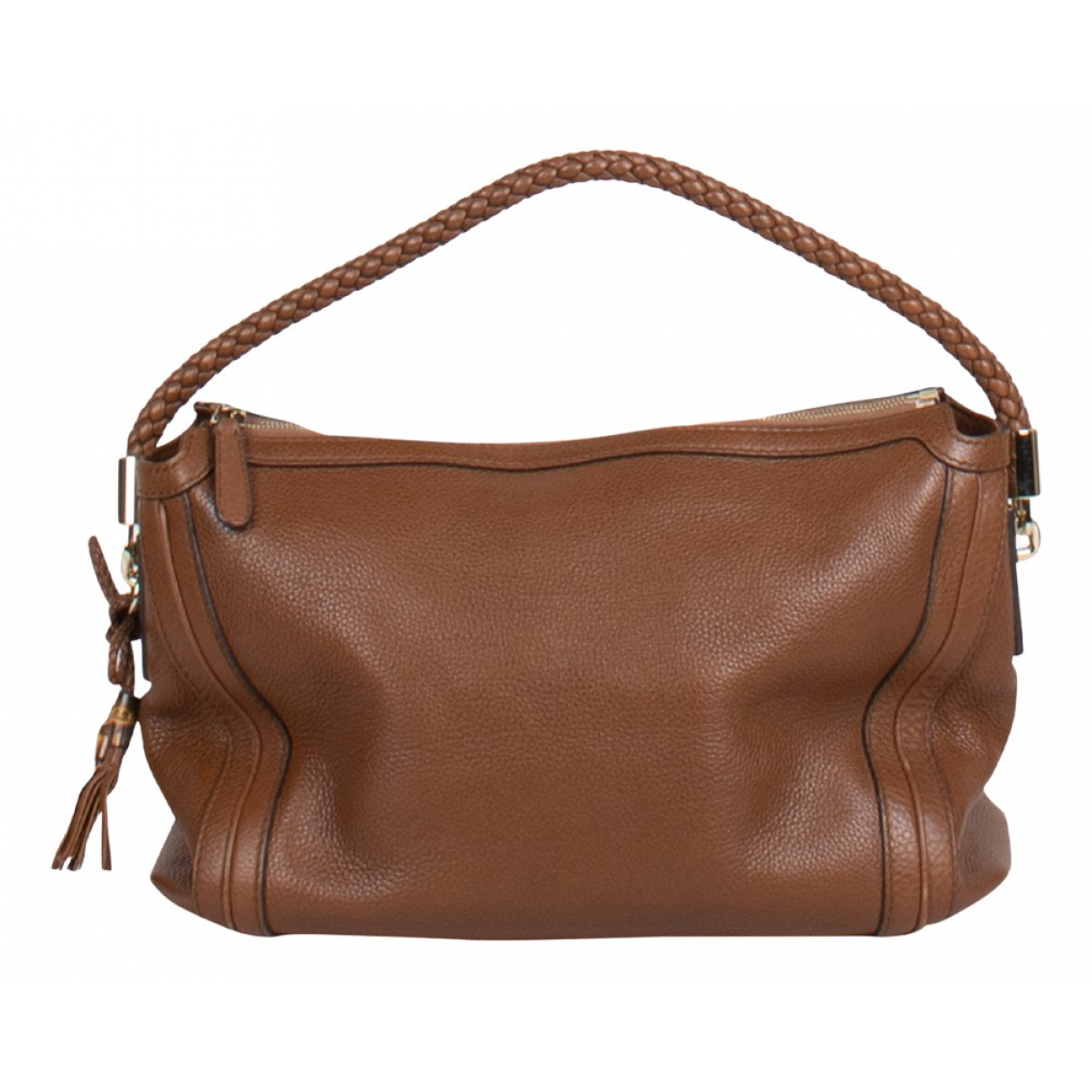 Gucci Bamboo Brown Leather handbag for Women N