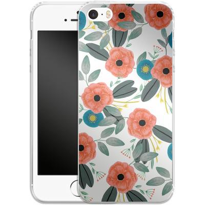 Apple iPhone 5 Silikon Handyhuelle - Poppy Dream von Iisa Monttinen