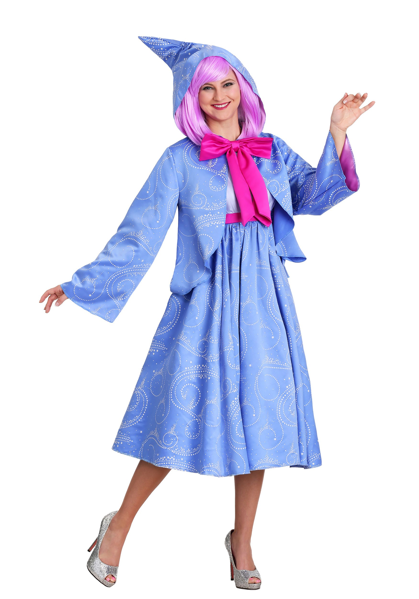 Disney Cinderella Fairy Godmother Plus Size Costume for Women