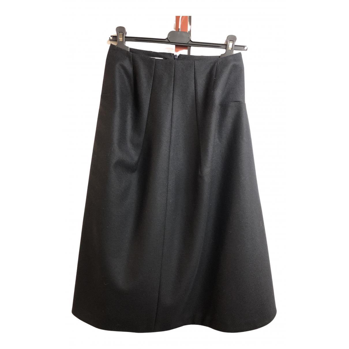 Falda midi de Lana Jil Sander