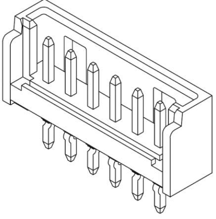 Molex , 53290, 10 Way, 1 Row, Straight PCB Header (10)