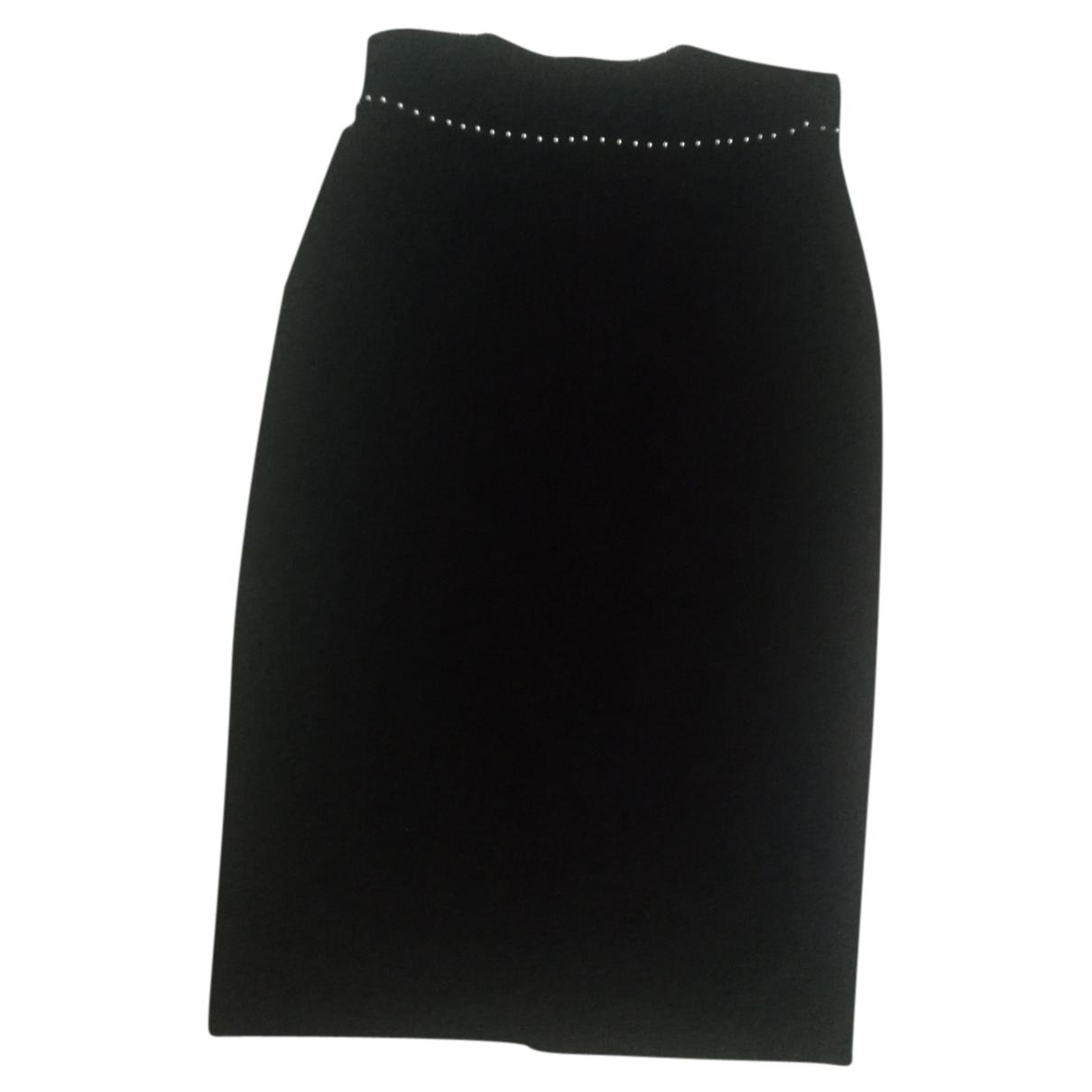 Alexander Mcqueen - Jupe   pour femme en coton - noir