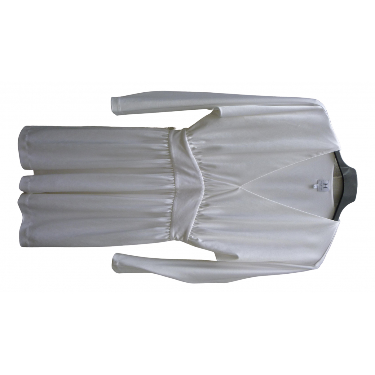 Halston Heritage \N Kleid in  Weiss Polyester