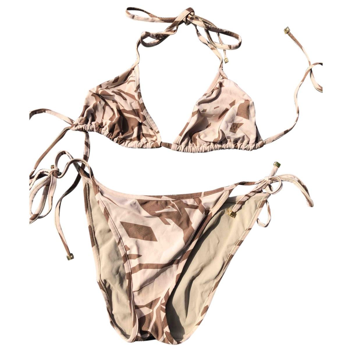 Gucci \N Badeanzug in  Beige Synthetik