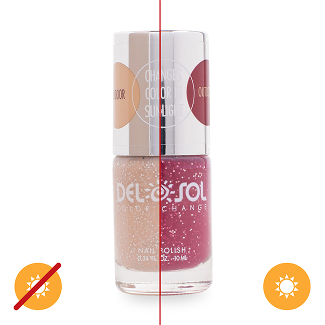 Color-changing Nail Polish - Barely There