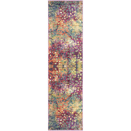 Safavieh Monaco Collection Doreen Abstract RunnerRug, One Size , Multiple Colors