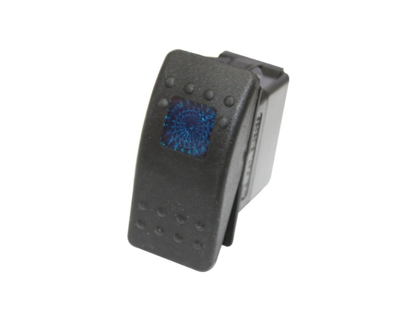 DragonFire 04-0025 Standard On And Off Switch Black w/Blue Led