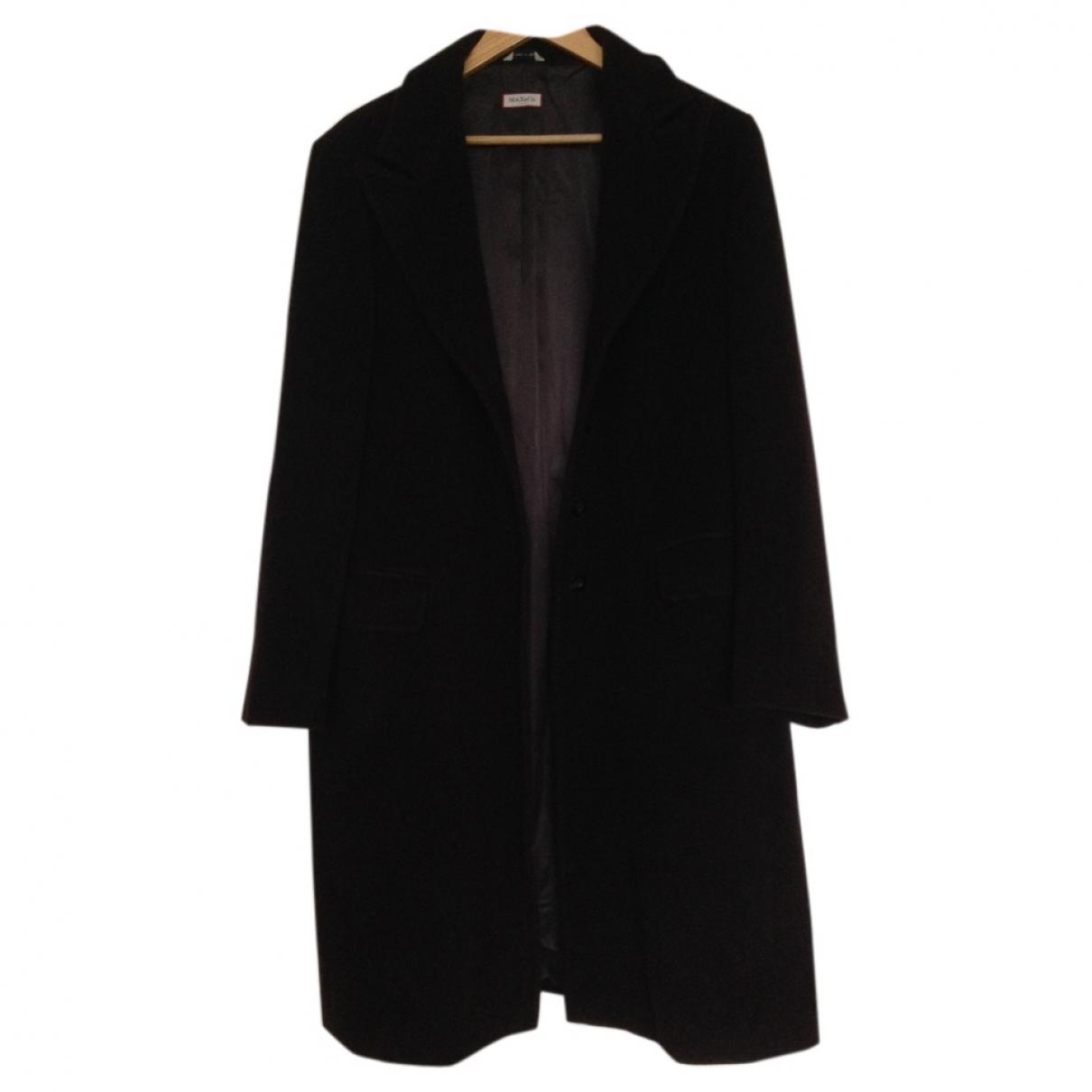 Max & Co \N Brown Wool coat for Women 46 IT