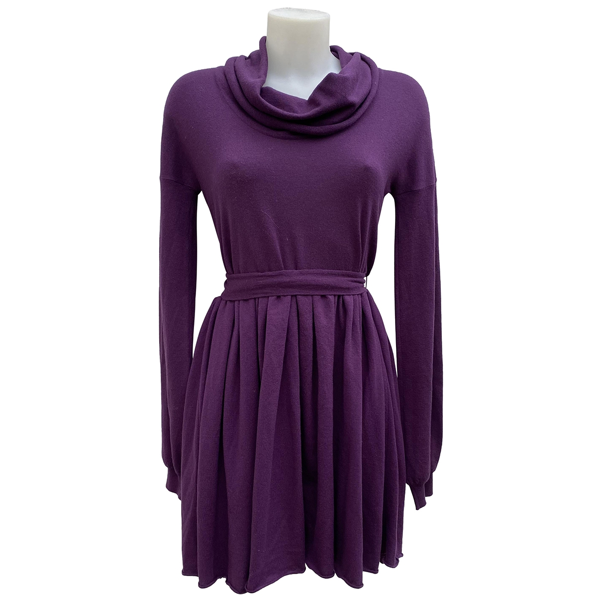 Stella Mccartney \N Kleid in  Lila Wolle