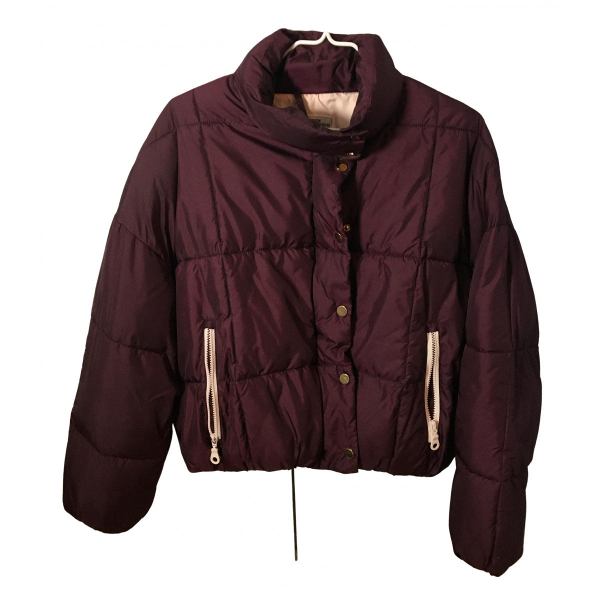 Baum Und Pferdgarten \N Burgundy coat for Women S International