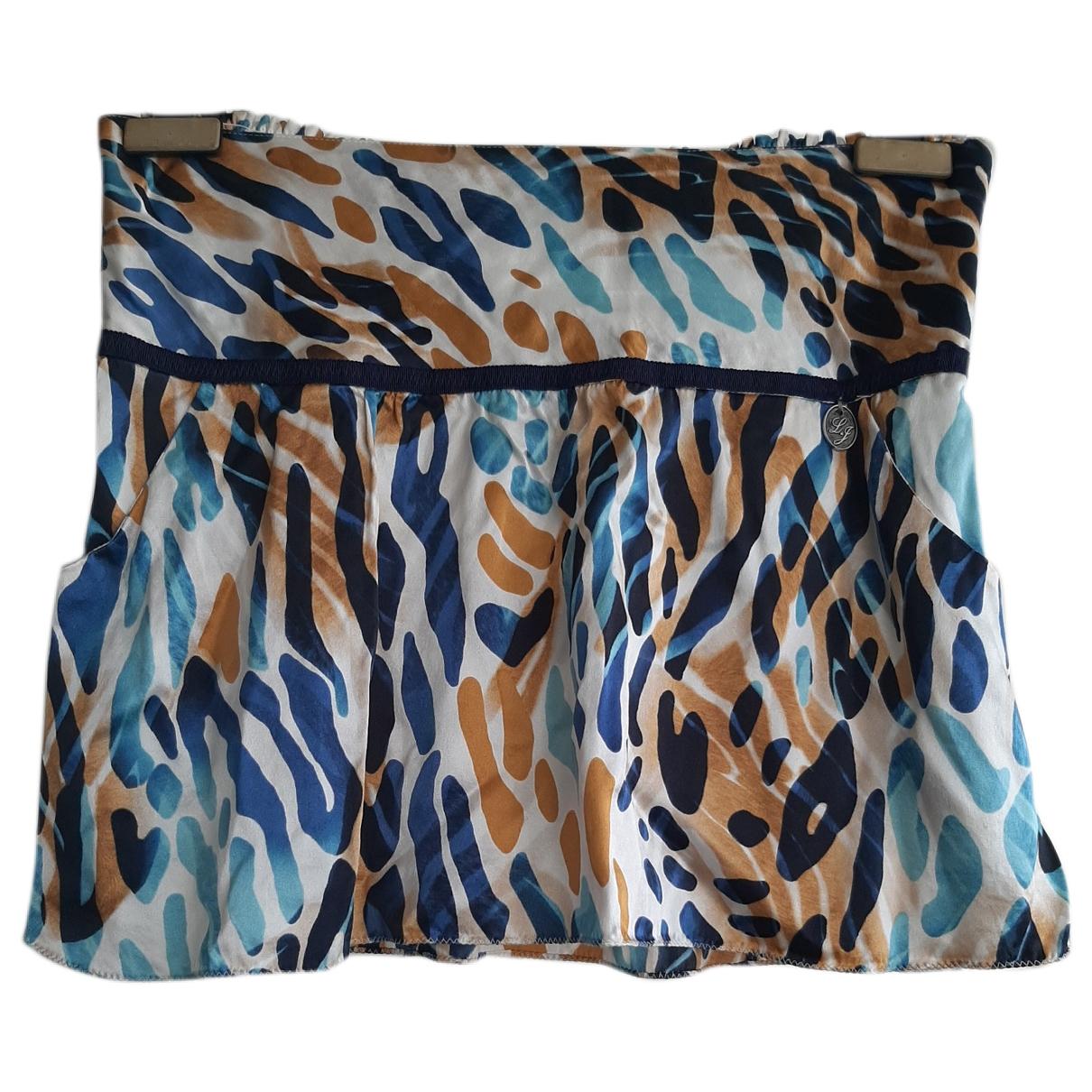 Liu.jo \N Multicolour Silk skirt for Women 40 IT