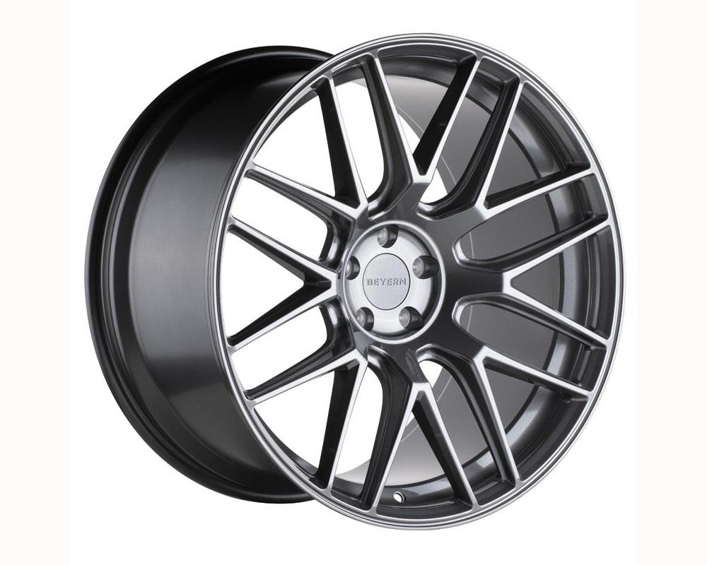 Beyern Autobahn Wheel 18x9.5 5x120 25 Gloss Gunmetal