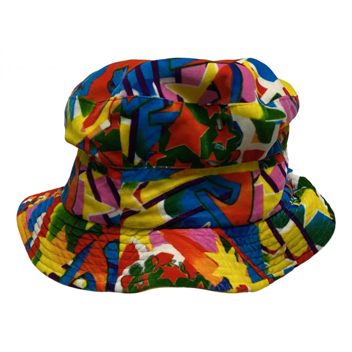 Comme Des Garcons - Chapeau & Bonnets   pour homme en coton - multicolore