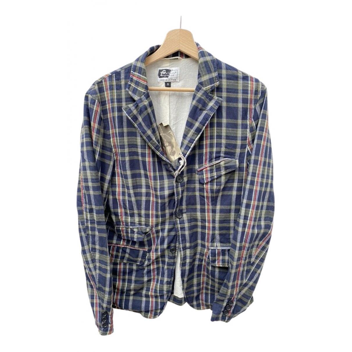 Engineered Garments N Blue Cotton jacket  for Men 46 FR