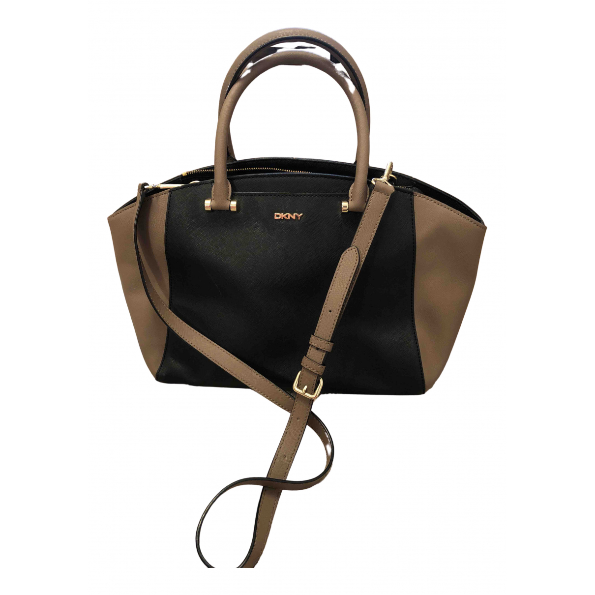 Dkny N Leather handbag for Women N