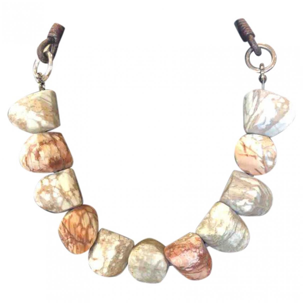 Brunello Cucinelli \N Kette in  Bunt Perlen