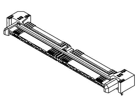 Samtec , Q Rate QRM8, 52 Way, 2 Row, Straight PCB Header