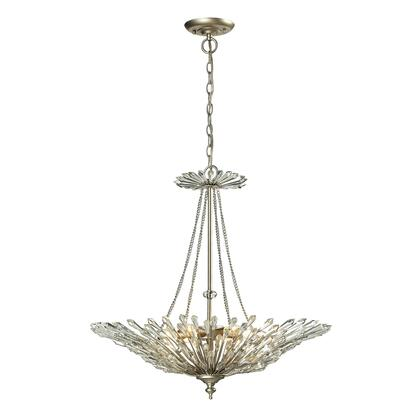 31432/6 Viva Collection 6 Light Pendant in Aged