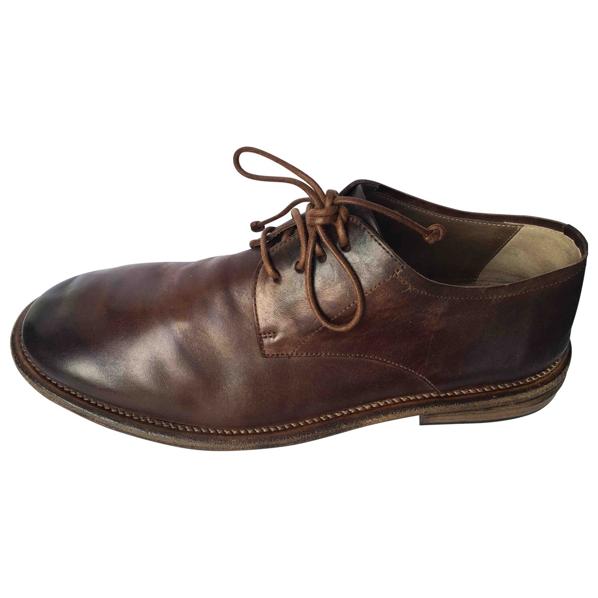 Marsèll \N Brown Leather Lace ups for Men 43 EU