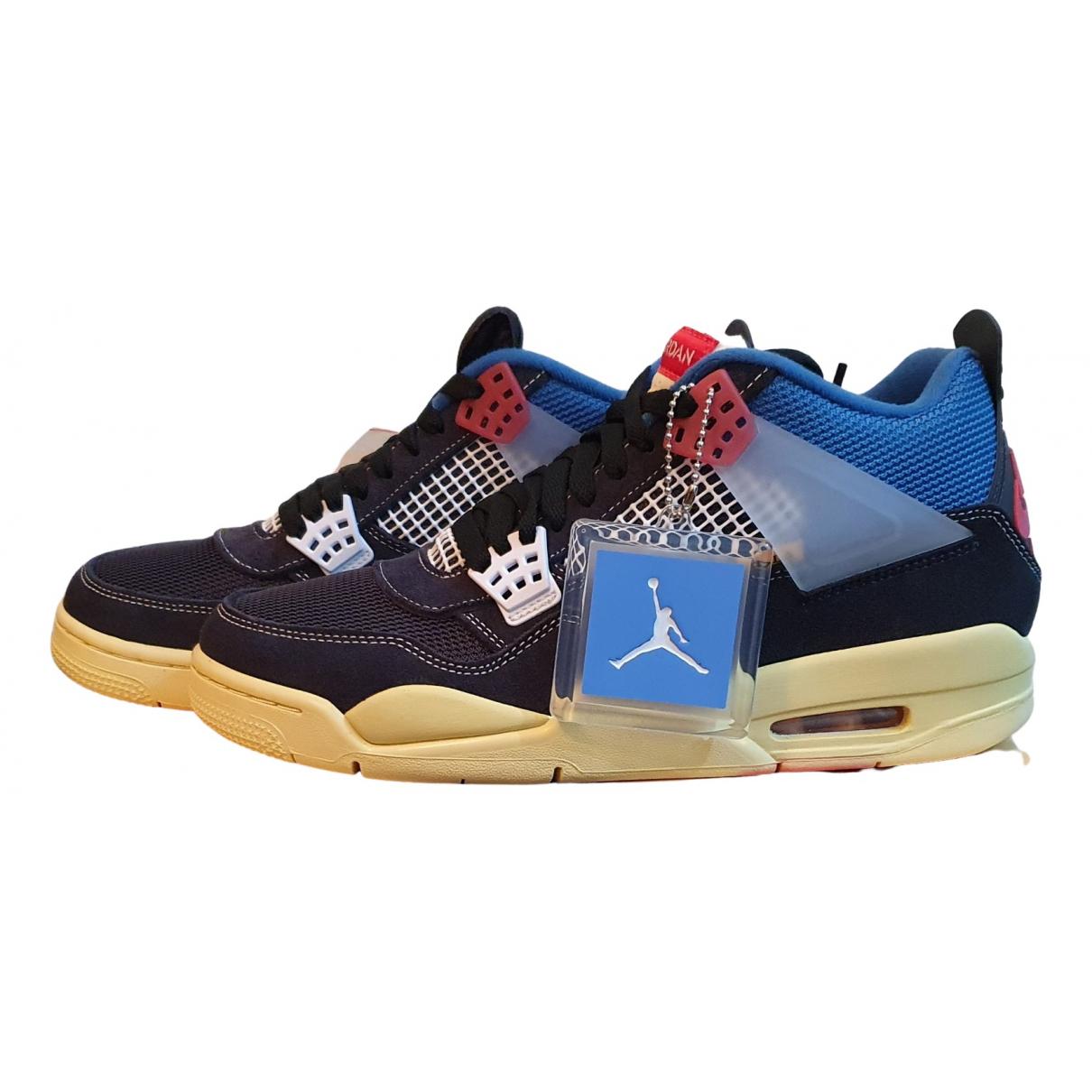 Jordan - Baskets Air Jordan 4 pour homme en toile