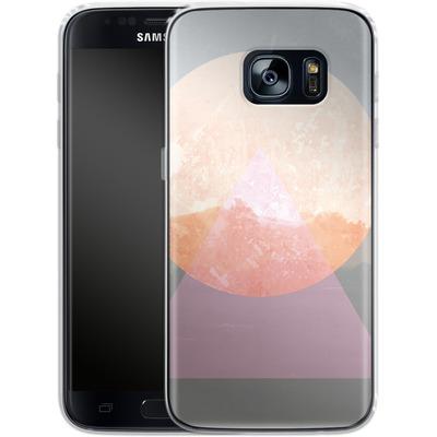 Samsung Galaxy S7 Silikon Handyhuelle - Landscape Abstract 3 von Mareike Bohmer