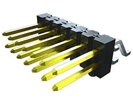 Samtec , TSM, 3 Way, 1 Row, Horizontal PCB Header (76)