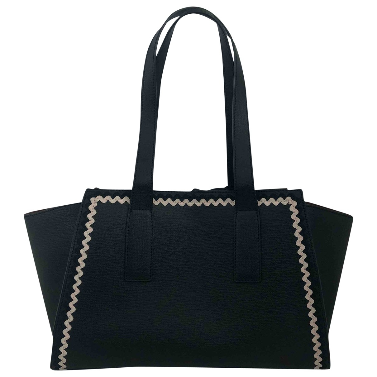 Loeffler Randall \N Black Leather handbag for Women \N