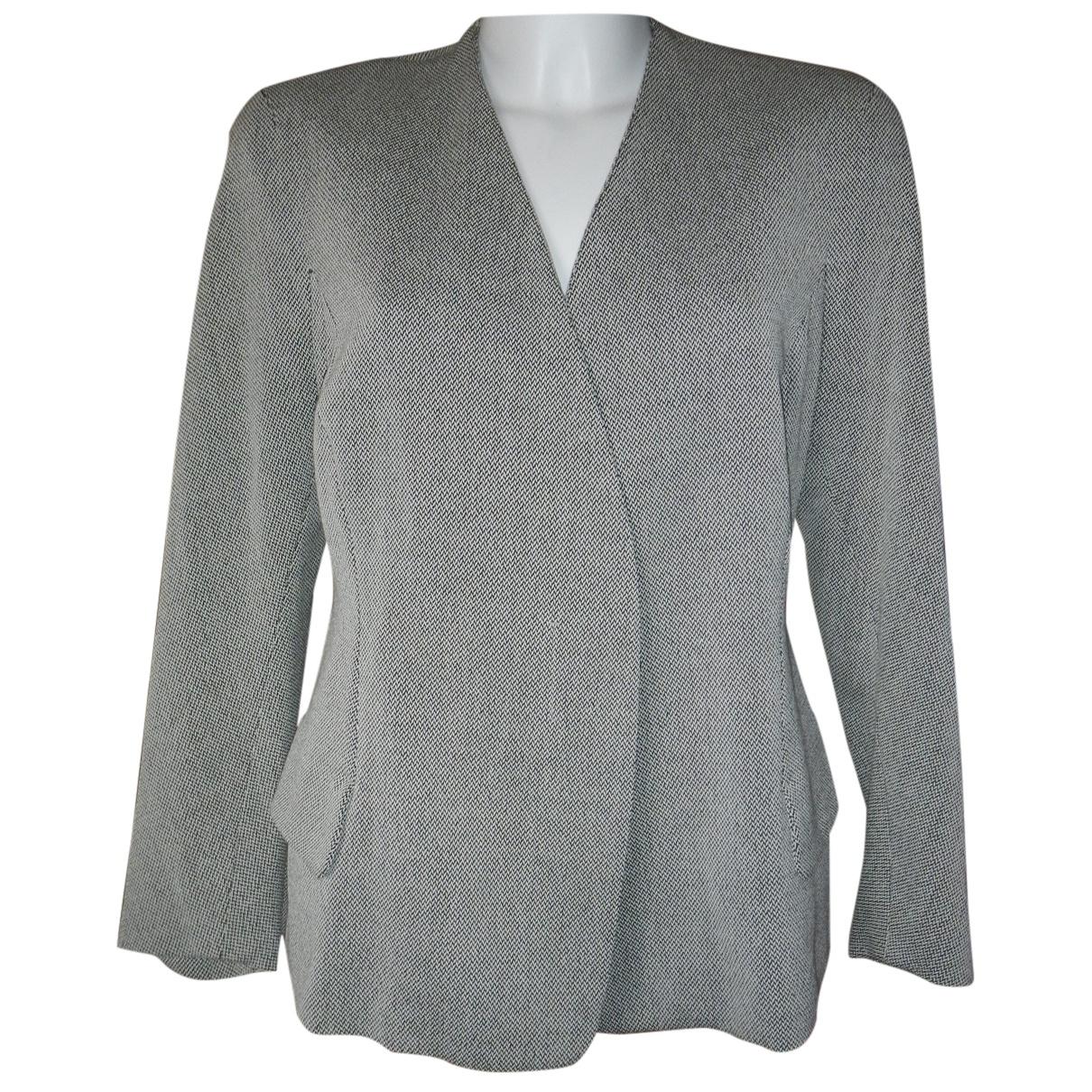 Jil Sander \N Grey Wool jacket for Women 44 IT