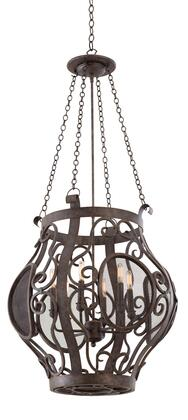 Isabel 500152OC 6-Light Pendant in Oxidized