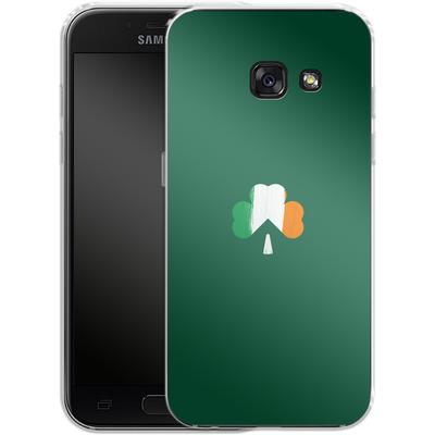 Samsung Galaxy A3 (2017) Silikon Handyhuelle - Irish Flag von caseable Designs