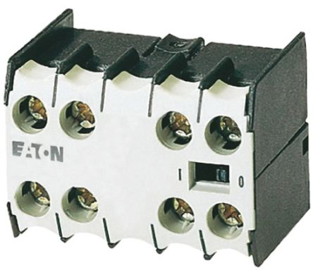 Eaton Auxiliary Contact - 3NO/NC, 4 Contact, Front Mount, 2.5 A dc, 4 A ac