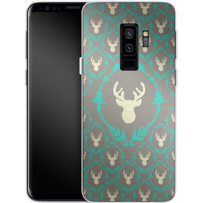 Samsung Galaxy S9 Plus Silikon Handyhuelle - Oh Deer von Bianca Green