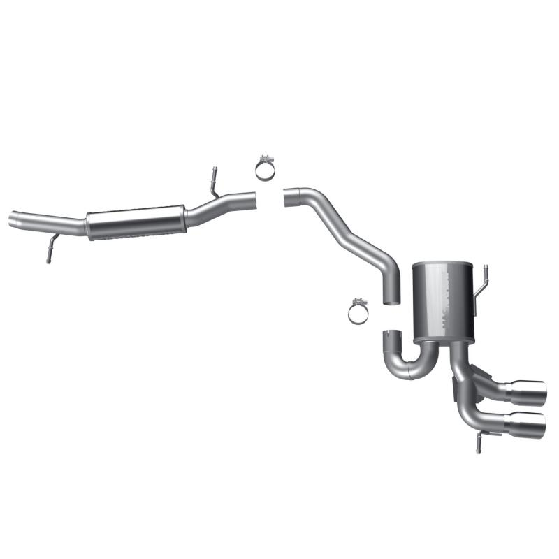 MagnaFlow 15598 Exhaust Products Sport Series Stainless Cat-Back System Audi 80 1988 3.2L V6