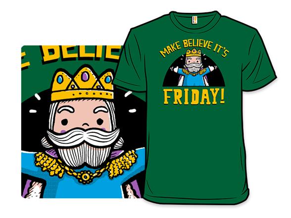 Long Life To Friday - Kelly Green T Shirt