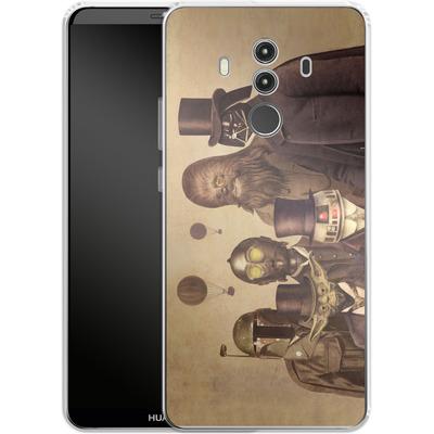 Huawei Mate 10 Pro Silikon Handyhuelle - Victorian Wars von Terry Fan
