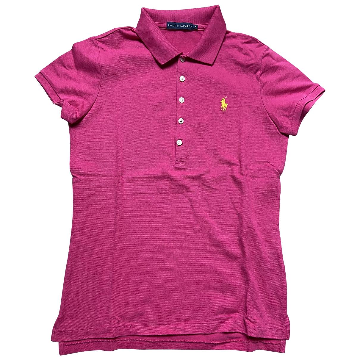 Ralph Lauren \N Pink Cotton  top for Women M International