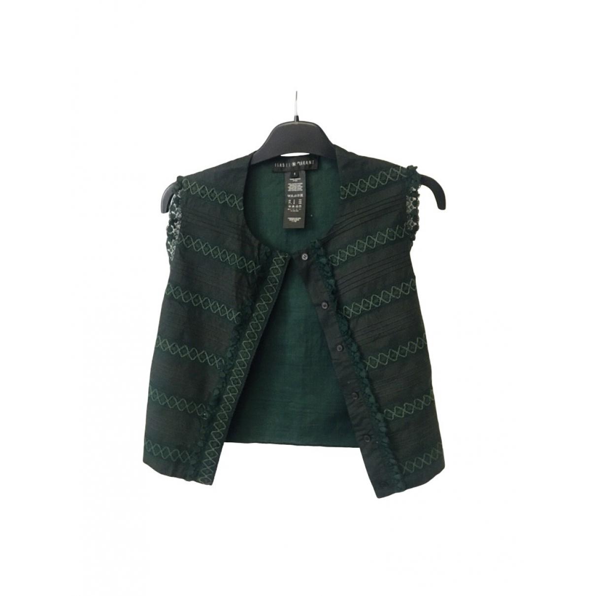 Isabel Marant - Pull   pour femme en coton - vert