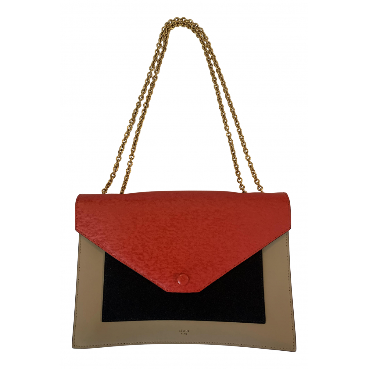 Celine Pocket Multicolour Leather handbag for Women \N