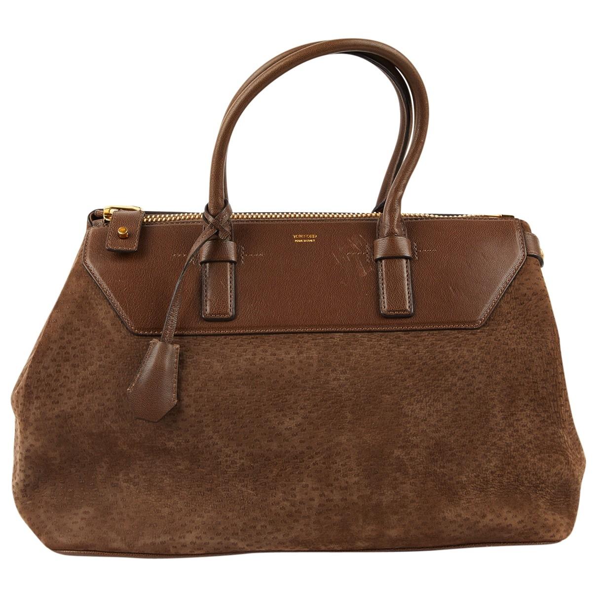 Tom Ford \N Brown Suede handbag for Women \N