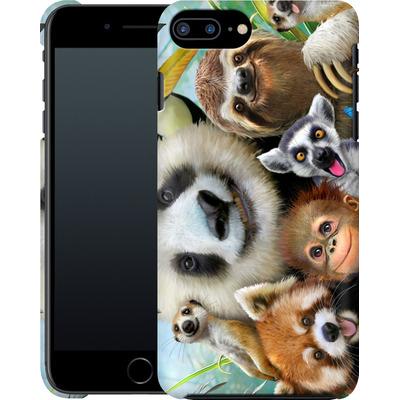 Apple iPhone 8 Plus Smartphone Huelle - Zoo Selfie von Howard Robinson