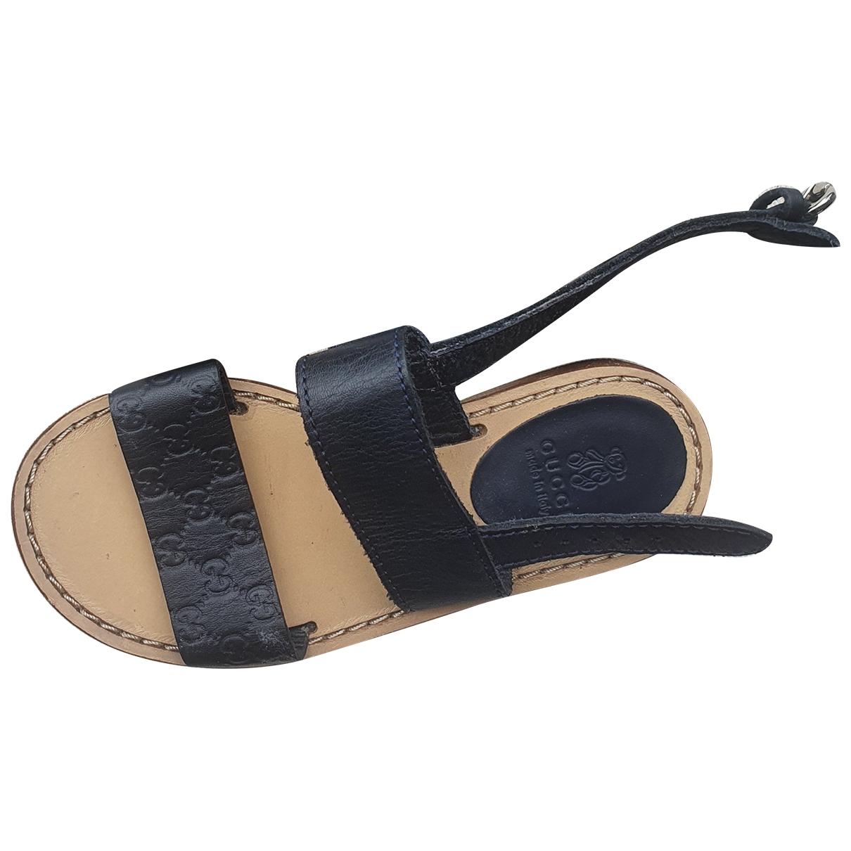 Gucci - Sandales   pour enfant en cuir - bleu