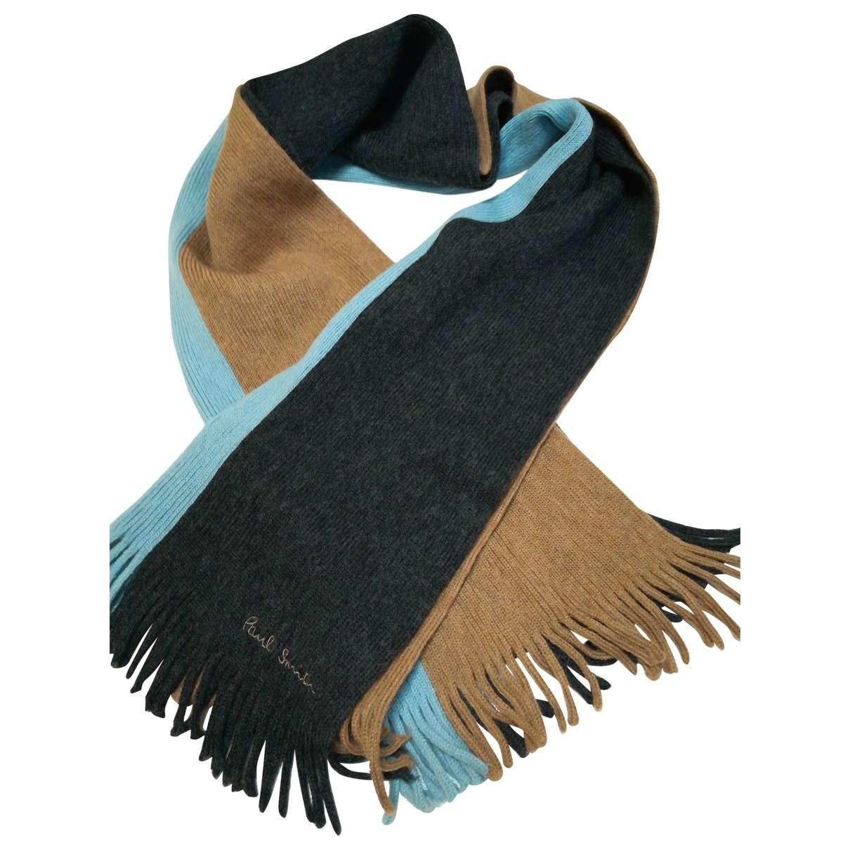 Paul Smith \N Multicolour Wool scarf & pocket squares for Men \N