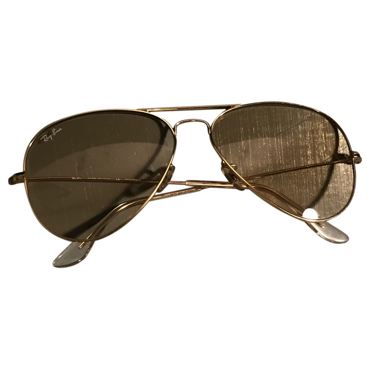 Ray-ban - Lunettes Aviator pour homme - beige